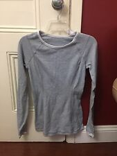 Lululemon Run Turn Around Long Sleeve Size 4