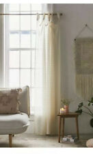 Urban Outfitters Boho Lace Knotted Curtains Set Of 2 Panels