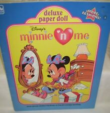 Minnie 'N Me Paper Doll Book 1990