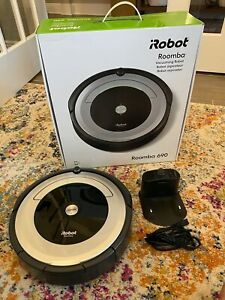 iRobot Roomba 690 Black Wi-Fi Robot Vacuum Cleaner