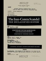 Iran-Contra Scandal : A National Security Archive Documents Reader Paperback
