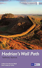 Hadrian's Wall Path: National Trail Guide by Anthony Burton Walking Book Maps