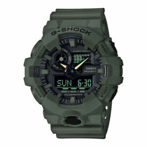 GENUINE NEW Casio G-Shock - Mens Analogue-Digital Green Watch - GA-700UC-3AER UK
