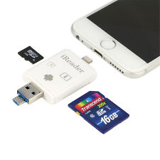 iReader SD Micro TF Card Reader For iPhone 6s 5 Mini 2 Faster than i-Flashdrive