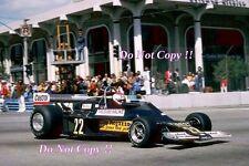 Clay Regazzoni Ensign N177 EE. UU. West Grand Prix 1977 fotografía