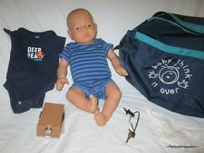 RARE Baby Think It Over Doll G5 Generation 5 White Caucasian Male Boy +Extras