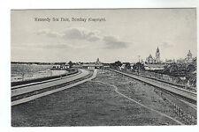 Kennedy Sea Face - Bombay Photo Postcard c1910 / India