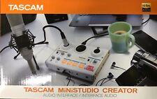 Tascam-US-42-Ministudio Creator Interfaz de Audio para Online Broadcasting