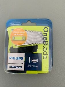 Philips Norelco One Blade Replacement 1 Pack of Cartridges with blade Wear