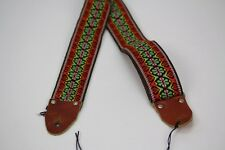 Vintage 60's Ace Style Bobby Lee style Leather ends metal buckle Rare color 79