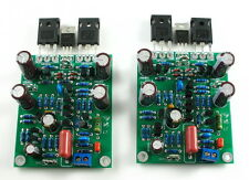 【DIY KIT】LJM  L7 MOSFET High Speed FET Power Amplifier 2 Channel Amp Kit CL191