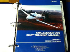 Challenger CL-604 Pilot Training Manual Vol. 2 Aircraft Systems
