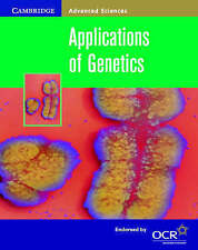 Applications of Genetics by Jennifer Gregory (Paperback, 2000)