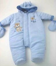 Baby Boy's Snow Bear Snow Suit. Various Sizes