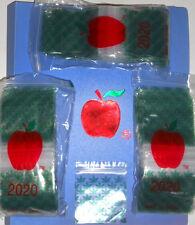 "apple brand baggies zippitz bags 2""x2"" 2020 size Green Leaf 300ct  Sick Price!"