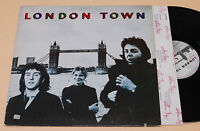 WINGS BEATLES:LP-LONDON TOWN:1°ST+INNER TESTI EX