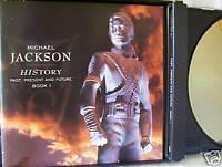 Michael Jackson- History- mit Botschaft an deutsche Fans- 2 CD-Box  WIE NEU