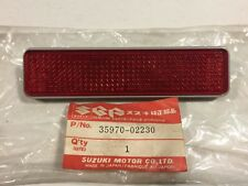 New OEM Suzuki FA50 SP125 SP200 VS800 LT-F250 Rear Reflex Reflector 35970-02230