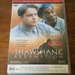 The Shawshank Redemption DVD R4 Like New! FREE POST