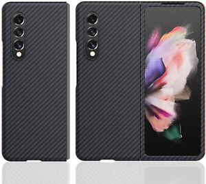 Original Aramid Carbon Fiber Case Slim Cover Skin For Samsung Galaxy Z Fold 3 5G