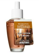 Bath & Body Works Hot Cocoa & Cream Wallflowers Fragrance Refill Bulb Nwt