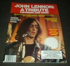 "JOHN LENNON TRIBUTE YESTERDAY & TODAY MAGAZINE 21""x 32"" POSTER THE BEATLES"