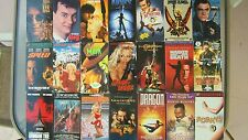 Lot of 21 VHS Tapes