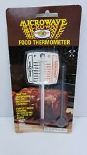 Vintage Nordic Ware Microwave Food Thermometer RARE 1970s Kitchen Gadget NIB