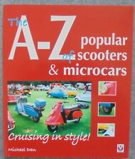 A - Z of Popular Scooters & Microcars Book 2007 New 255 Page Vespa Lambretta