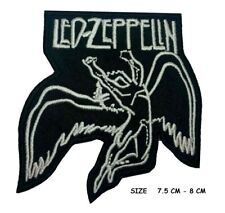 Led Zeppelin Flying Man Logo Music Band Embroidered Iron SEW ON PATCH