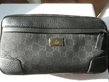 GENUINE NEW Gucci Black Waist Bag with serial No. and dust bag