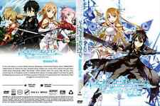 DVD SWORD ART ONLINE SEASON 1 - 2 COMPLETE BOXSET - ENGLISH VERSION & SUBTITLE