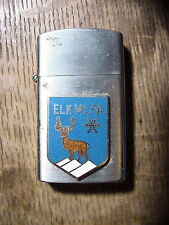ELK MT. PA. Vintage Continental LIGHTER Ski Area 1950's