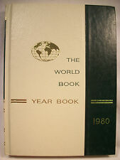 World Book Encyclopedia Yearbook - 1980 - Review of Events in 1979 Free Shipping