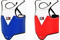 WKF Approved Karate Childrens Chest Guard Body Armour Protection Junior Kids
