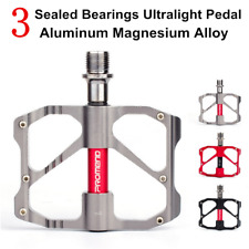 PROMEND Ultralight Aluminum Bicycle Pedal 3 Sealed Bearings MTB Road Bike Pedals