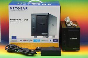 Netgear ReadyNAS Duo RND2150 Home Media Server Video NAS ohne Festplatte in OVP