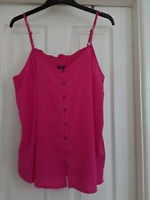 NWT size 16 pink cami top from George