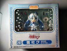 New Good Smile Nendoroid 207 Hatsune Miku Snow Miku Fluffy Coat Fuwafuwa Coat