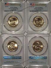 2018 P & D Native Sacagawea Dollar 2 Coin Set $1 PCGS MS66 Pos B  FIRST STRIKE