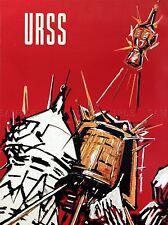 TRAVEL USSR URSS RUSSIA SOVIET ART POSTER PRINT LV4498