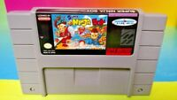 Super Ninja Boy  - Super Nintendo SNES Cart Tested - Authentic RARE ! Clean
