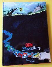 SPIROU QRN SUR BRETZELBURG FRANQUIN GREG 1987 DUPUIS EDITION AVEC JAQUETTE TBE