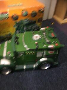 Teenage Mutant Ninja Turtles Battle Shell Tank Armored Van and Box