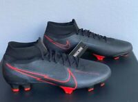 Nike Mercurial Superfly 7 Pro FG Men's Soccer Cleats Black  AT5382-060  Size: 13