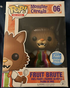 Funko Pop! Ad Icons Monster Cereals Fruit Brute Shop Excl. 2500 Pcs Limited RARE