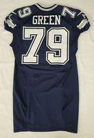 #79 Chaz Green of Dallas Cowboys NFL Locker Room Player Lightly Worn Jersey