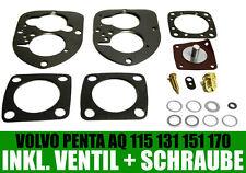 Volvo Penta/SOLEX 44pa1 pa1 Carburateur/joints AQ 115, 125, 130, 131, 170