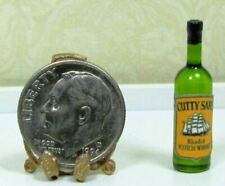 Dollhouse Miniature Bottle of Cutty Sark - 1:12 Scale