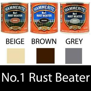 Hammerite No.1 Rustbeater Metal Paint Quick Drying 250ml